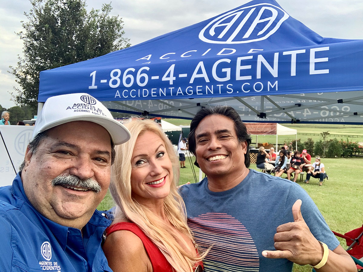 Accident Agents Sponsors the Candela Pura Event 2020