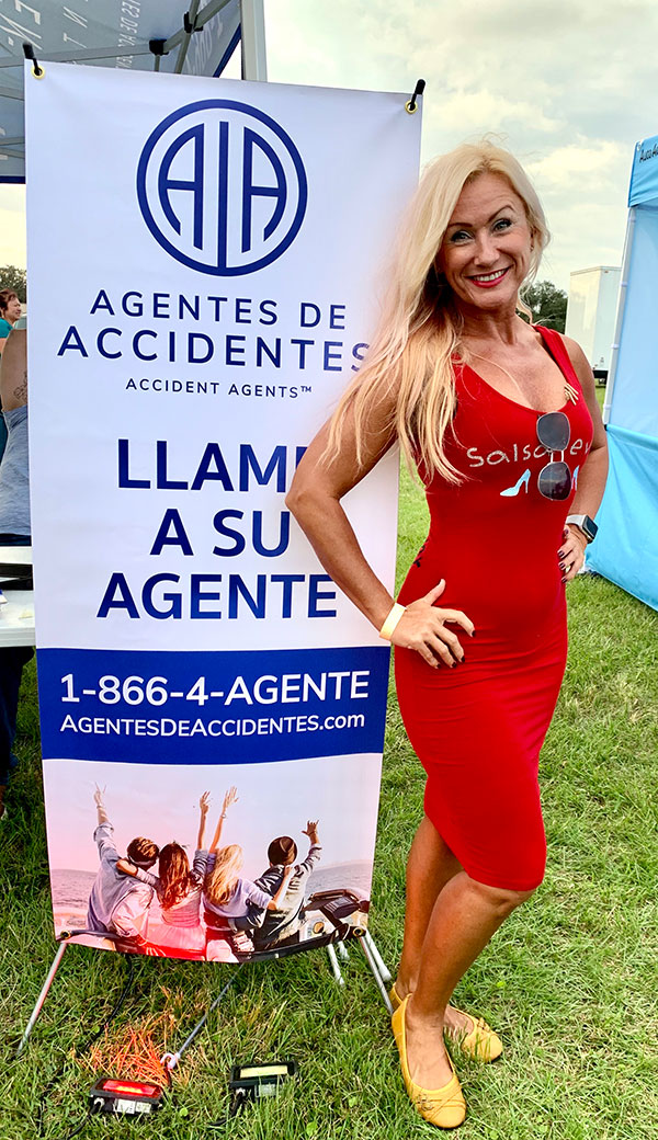 Accident Agents Sponsors Candela Pura Salsa Event in 2020
