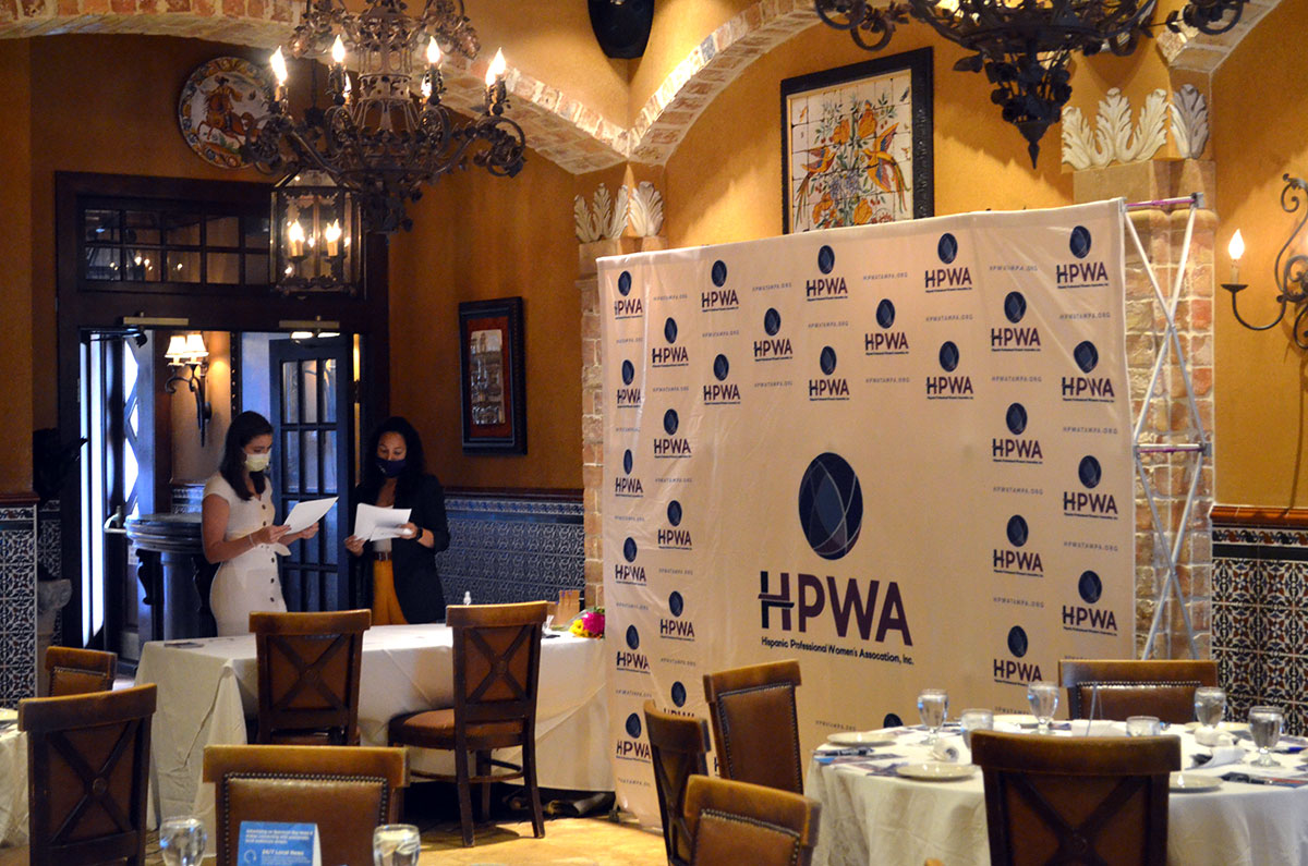 Accident Agents Sponsors HPWA Luncheon Event in Tampa, Florida