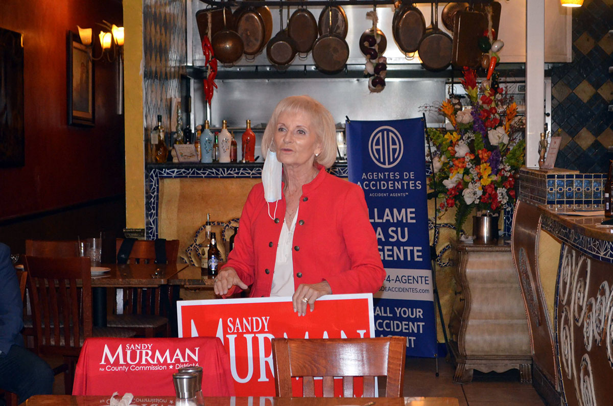 Sandy Murman Event in Tampa