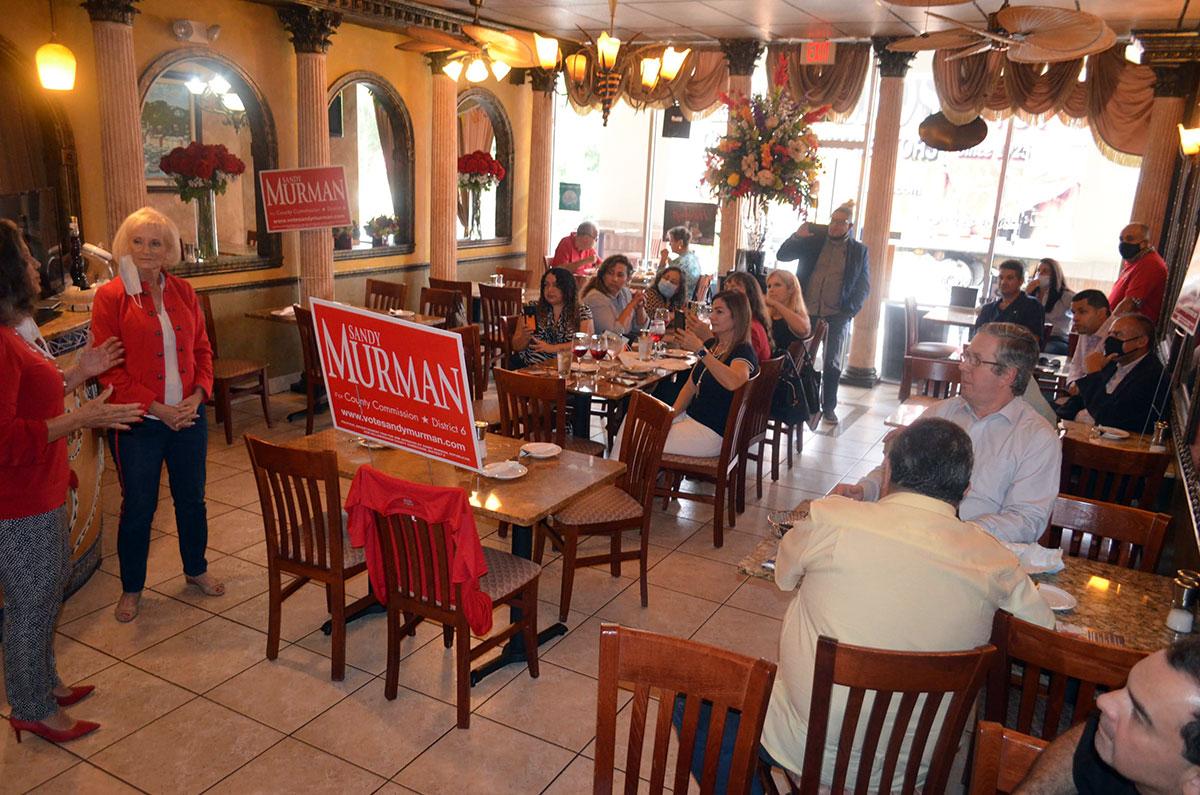 Sandy Murman Event in FL